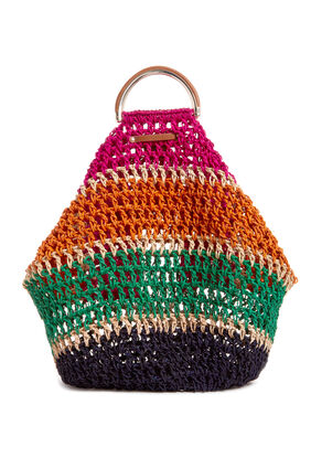 DESERT BLISS STRAW TOTE