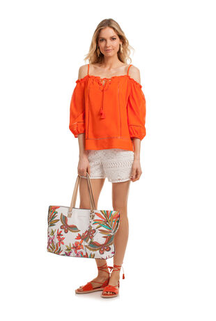PAPILLION PALM EASY TOTE