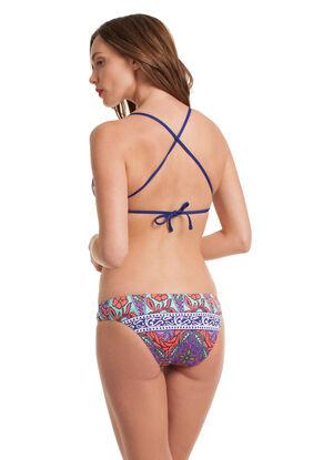 Balinese Batik Bralette Bikini Set