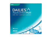 DAILIES AQUACOMFORT PLUS TORIC CONTACTS - 90 PACK