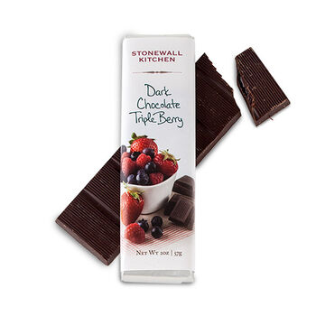 Dark Chocolate Filled with Triple Berry Bar