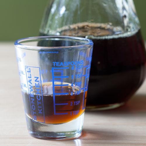 Mini Measuring Glass - Blue