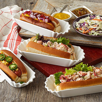 Melamine Hot Dog Tray