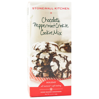 Chocolate Peppermint Crinkle Cookie Mix