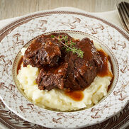 Maple Bourbon Braised Beef
