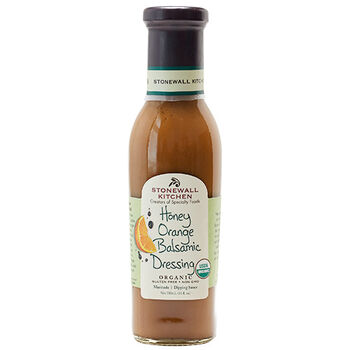 Organic Honey Orange Balsamic Dressing
