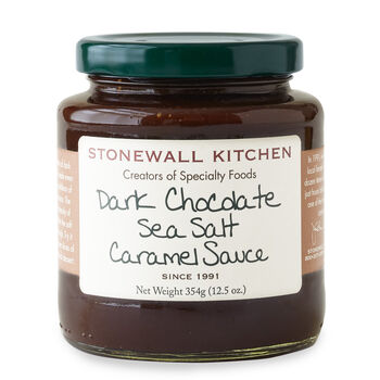 Dark Chocolate Sea Salt Caramel Sauce