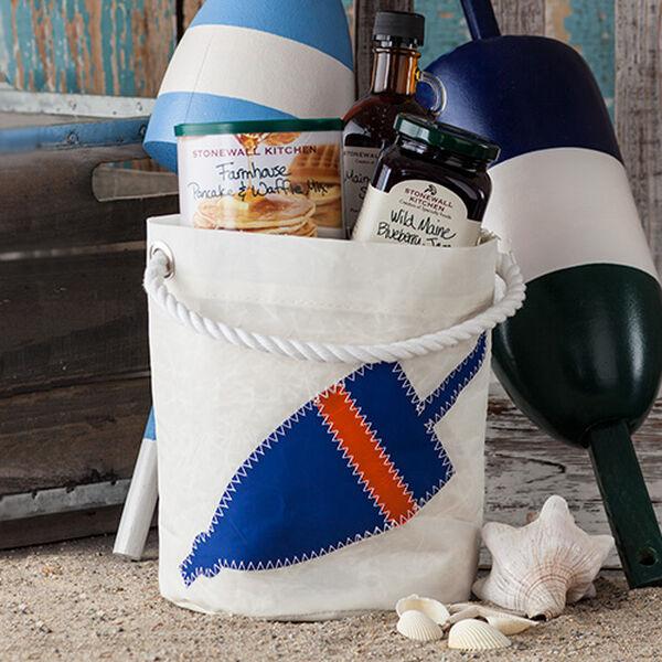 Stonewall Kitchen Buoy Sea Bag Bucket Bag Breakfast Gift