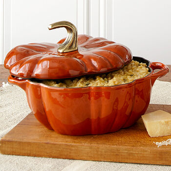 Pumpkin Cocotte with Butternut Squash Risotto Mix