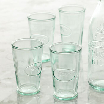 Cow Milk Glasses