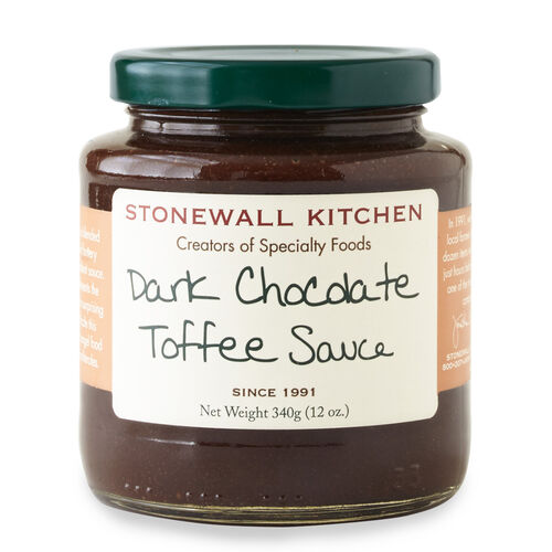 Dark Chocolate Toffee Sauce