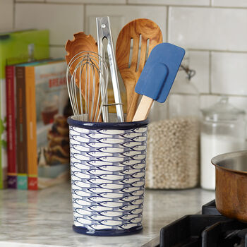 School of Fish Utensil Holder