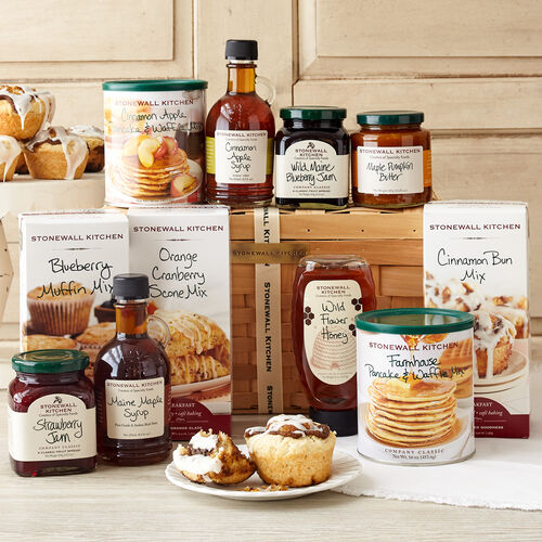 Kitchen Gift Baskets: New England Morning Gift