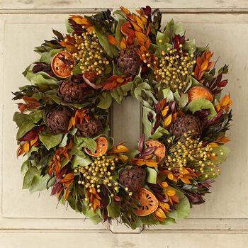 """Quince 18"""" Wreath"""