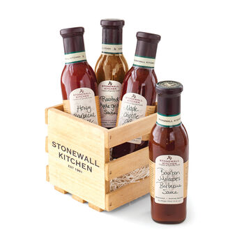 Grill Sauce Gift Crate