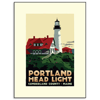 Portland Head Lighthouse Print