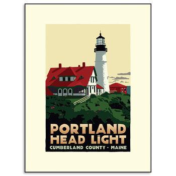 Portland Head Lighthouse Print