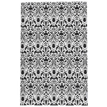 Halloween Brocade Tea Towel