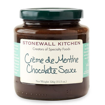 Crème de Menthe Chocolate Sauce