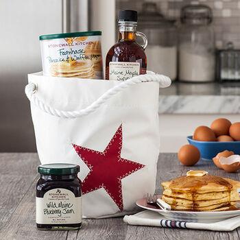 Red Star Sea Bag® Bucket Bag Breakfast Gift
