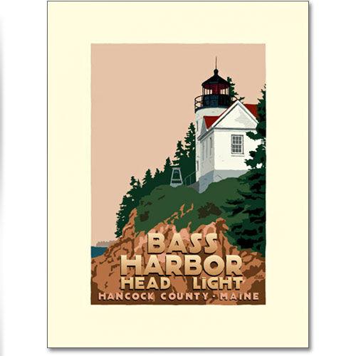 Bass Harbor Lighthouse Print