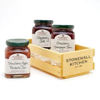 Strawberry Jam Crate