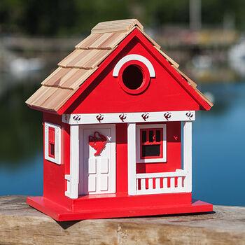 Lobster Cottage Birdhouse