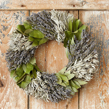 Herb Beauty Dried Flower Wreath