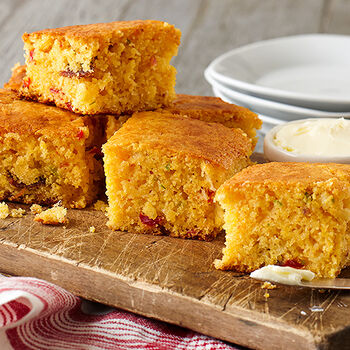 Spicy Chili Bacon Cornbread