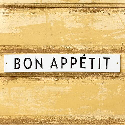 Bon Appetit Wall Plaque Kitchen Home Stonewall Kitchen