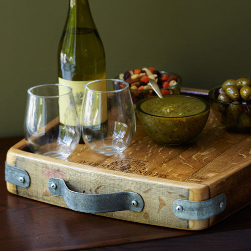Rectangle Wine Cask Tray