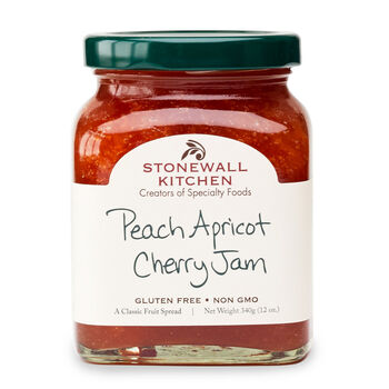 Peach Apricot Cherry Jam