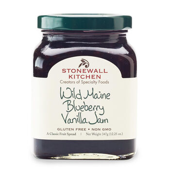 Wild Maine Blueberry Vanilla Jam