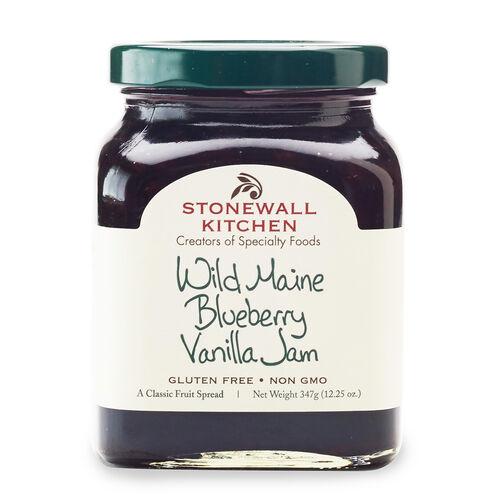Wild Maine Blueberry Vanilla Jam
