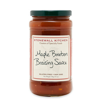 Maple Bourbon Braising Sauce
