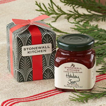 Gift Box with Holiday Jam