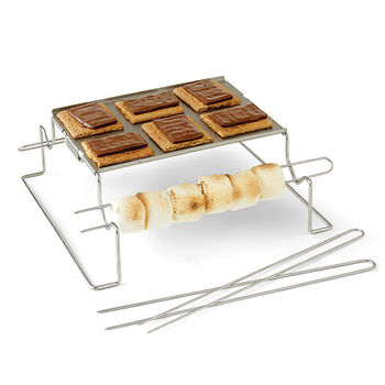 S'mores Folding Grill Rack