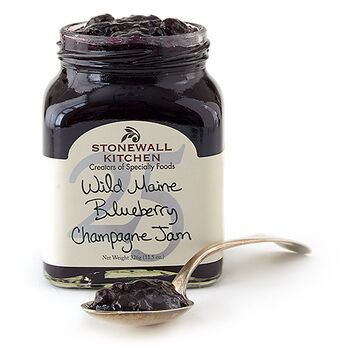Wild Maine Blueberry Champagne Jam