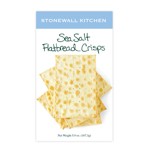 Sea Salt Flatbread Crisps