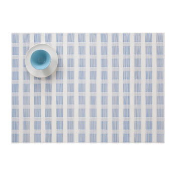 Blue & White Check Placemat