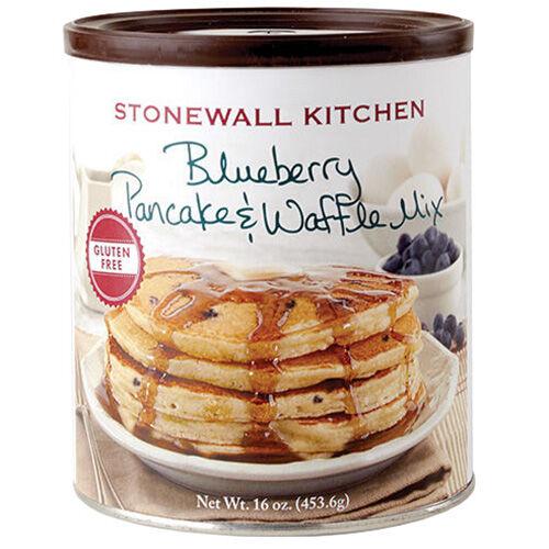 Gluten Free Blueberry Pancake Amp Waffle Mix Pancakes