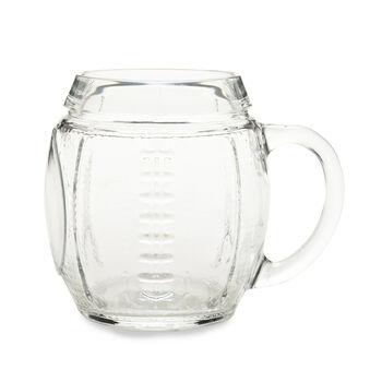 Glass football Mug