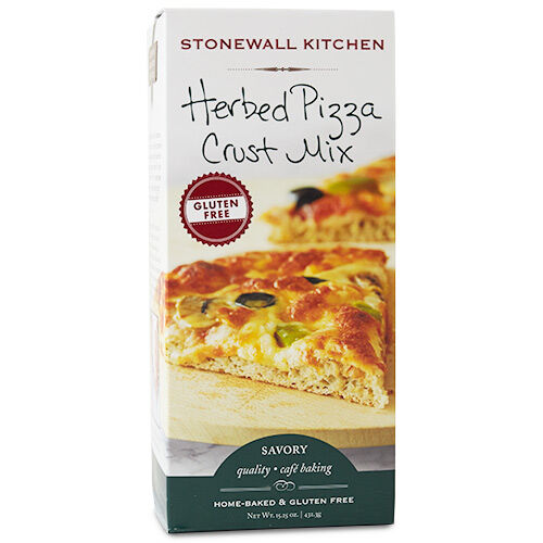 Gluten Free Herbed Pizza Crust Mix