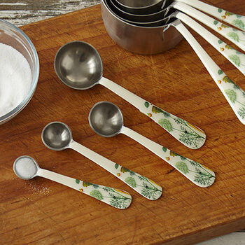 Botanical Measuring Spoons