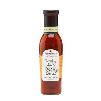 Roasted Peach Whiskey Sauce