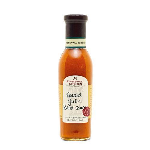 Roasted Garlic Peanut Sauce