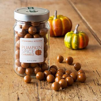 Pumpkin Spice Caramels