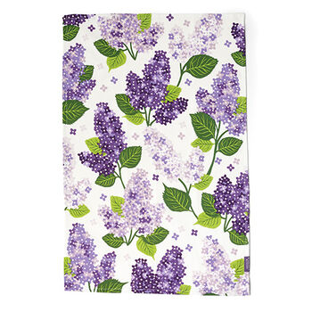 Lilac Tea Towel