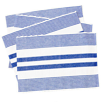 Blue Striped Placemats