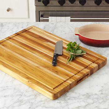 Edge Grain Rectangle Cutting Board